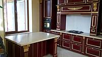 Столешницы для кухни из камня искусственного