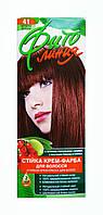 Стойкая крем-краска для волос Фито линия № 41 Красное дерево