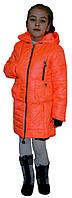 Стеганная куртка на девочку