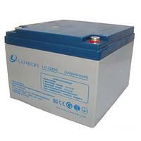 Гелевая аккумуляторная батарея Luxeon 12V 26Ah, фото 1