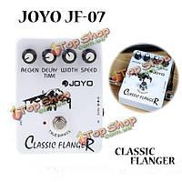 Флэнжер джойо JF-07 классической гитары педаль эффектов правда обход дизайна