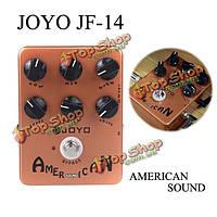 Джойо JF-14 американский звук усилителя sumilator гитара эффект педаль