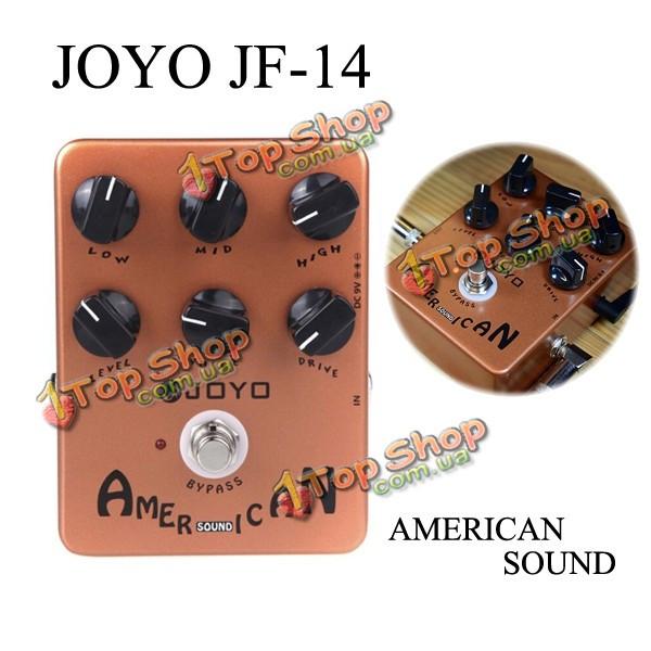 Джойо JF-14 американский звук усилителя sumilator гитара эффект педаль - ➊TopShop ➠ Товары из Китая с бесплатной доставкой в Украину! в Киеве