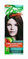 Стойкая крем-краска для волос Фито линия № 43 Спелая вишня