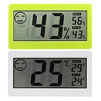 """Цифровой термометр гигрометр, LCD -дисплей 3,3"""", температура по °C / °F, подставка, магнитный держатель"""