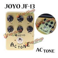 Джойо JF-13 AC тон вокс имитатор усилителя гитары педаль эффектов