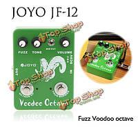 Джойо JF-12 гитара педаль эффектов фузз эффект вуду октавы правда обход