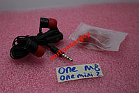 Наушники гарнитура HTC ONE M8/M7 Черные оригинал