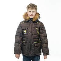 """Детская зимняя  куртка """"Команда"""" для мальчика, фото 1"""