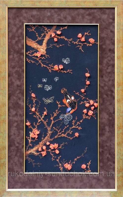 Набор для вышивания крестом «Райские птицы» (1062), Риолис