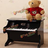 25 лучших ключевые музыкальный инструмент развивающие игрушки Mini пианино деревянные