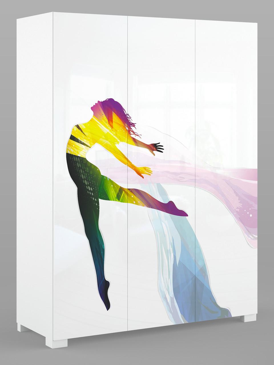 """Шкаф трехстворчатый 150 """"Dance Colour"""", Meblik (Польша)"""