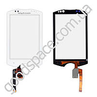 Тачскрин (сенсор) Sony Ericsson WT19i, большая или маленькая микросхема, цвет белый