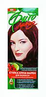Стойкая крем-краска для волос Фито линия № 44 Баклажан