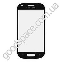 Стекло для Samsung i8190 Galaxy S 3 mini, цвет синий