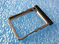 Держатель trey трей SIM-карты LG D802 черный
