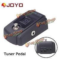 Джойо JT-305 гитарный тюнер-педаль правда обход 4 дисплей металлический корпус