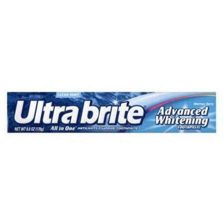 Отбеливающая зубная паста с фтором Ultra Brite Advanced Whitening Fluoride Toothpaste, Mint