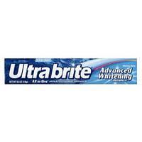 Отбеливающая зубная паста с фтором Ultra Brite Advanced Whitening Fluoride Toothpaste, Mint, фото 1