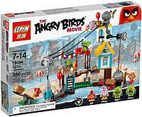 """19004 Конструктор Angry Birds Lepin """"Разгром Свинограда"""", 386 дет."""