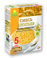 """Хлопья  Смесь 5злаков """"ТЕРРА"""" 800г"""