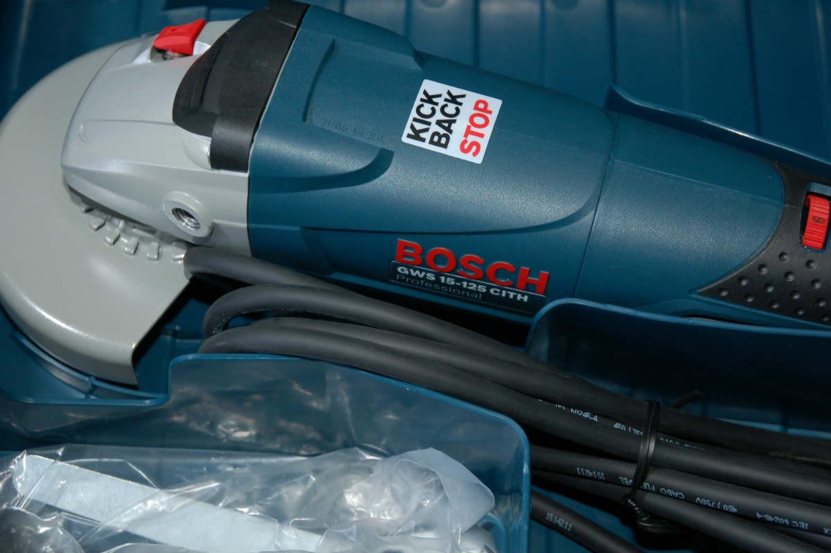 Угловая шлифмашина Bosch GWS 15-125 CITH, 0601830427