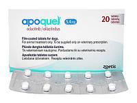 Апоквель (Apoquel) 5.4 мг, 10 таблеток на блистере, Zoetis