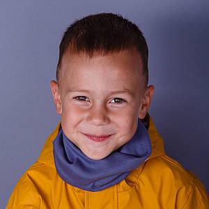 Теплый снуд-шарфик для мальчиков и девочек - оптом - весна-осень  - Артикул ХМ-1