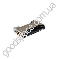 Слот для сим карты Samsung S7562, S7560, S7580, S7582, C6712