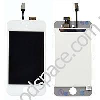 Модуль iPod Touch 4G: дисплей + тачскрин (сенсор), цвет белый