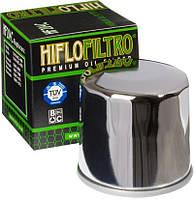 Фильтр масляный Hiflo HF204C (хромированный), фото 1