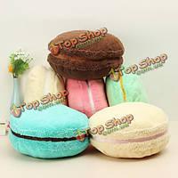 Frech Macaron плюшевые лепешка мягкая игрушка