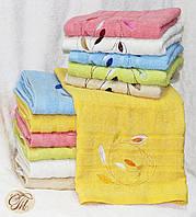 Полотенце банное Листья желтые