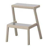 "IKEA ""МЭСТЕРБИ"" Табурет-лестница, бежевый"