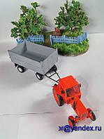 Масштабная модель прицеп тракторный ПТС 1/43 вар 3, фото 1