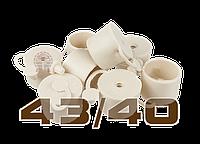 BIOWIN пробка резиновая с клапаном 43 мм