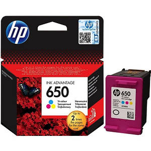 Картридж HP 650 Tri-Color (CZ102AE) 3.5ml