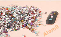 Стразы для ногтей,100 шт, микс цвет, форма, размер
