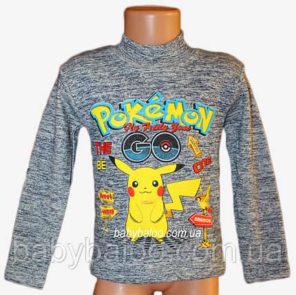 "Стойка подросток меланж ""Pokemon""(от 5 до 8 лет)начёс, фото 2"