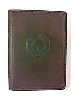 Кожаная обложка для прав + загран паспорт, с логотипом BMW