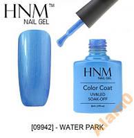 Гель-лак HNM 09942 water park голубой аквапарк 8мл