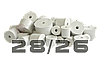 BIOWIN пробка резиновая 28/26 мм