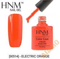 Гель-лак HNM electric orang оранжевый 8мл 90624