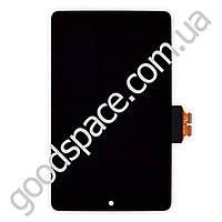 Дисплей Asus Google Nexus 7 (ME370) с тачскрином в сборе, цвет черный