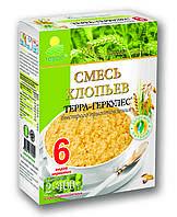 """Хлопья Смесь 6 злаков """"ТЕРРА"""" 800г"""