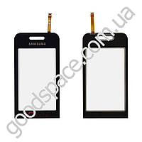 Тачскрин (сенсор) Samsung S5233 TV, цвет черный, высокое качество