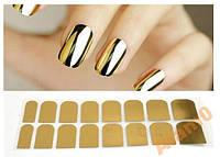 Термопленка фольга золото для ногтей