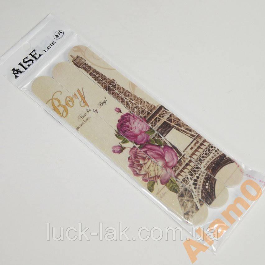 Пилочки для ногтей с рисунком Париж