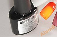 Гель лак термо Belle Fille цвет желтый красный хамелеон, фото 1