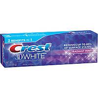 Отбеливающая зубная паста Crest 3D White Whitening Toothpaste, Radiant Mint , фото 1